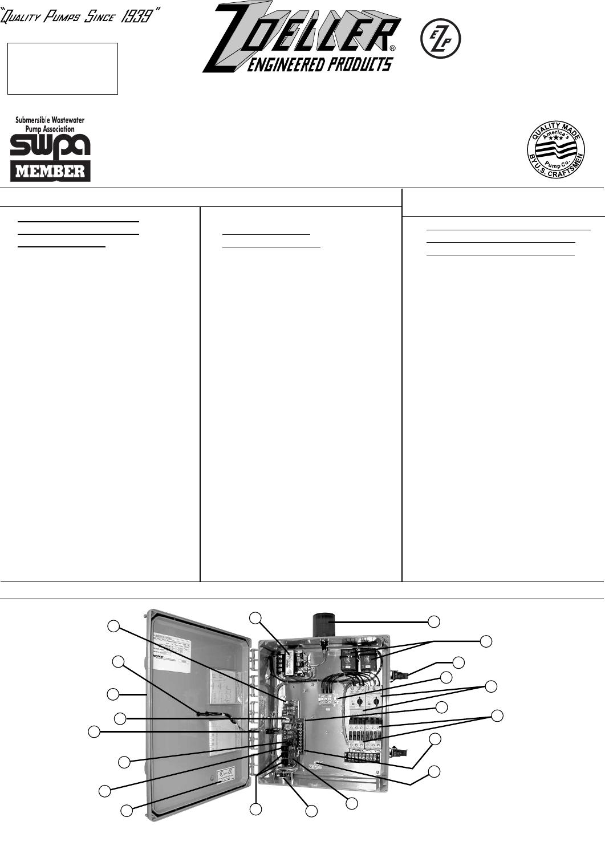 zoeller duplex pump control panel wiring diagram simple room 17092 2 zm1342 panels user manual 1