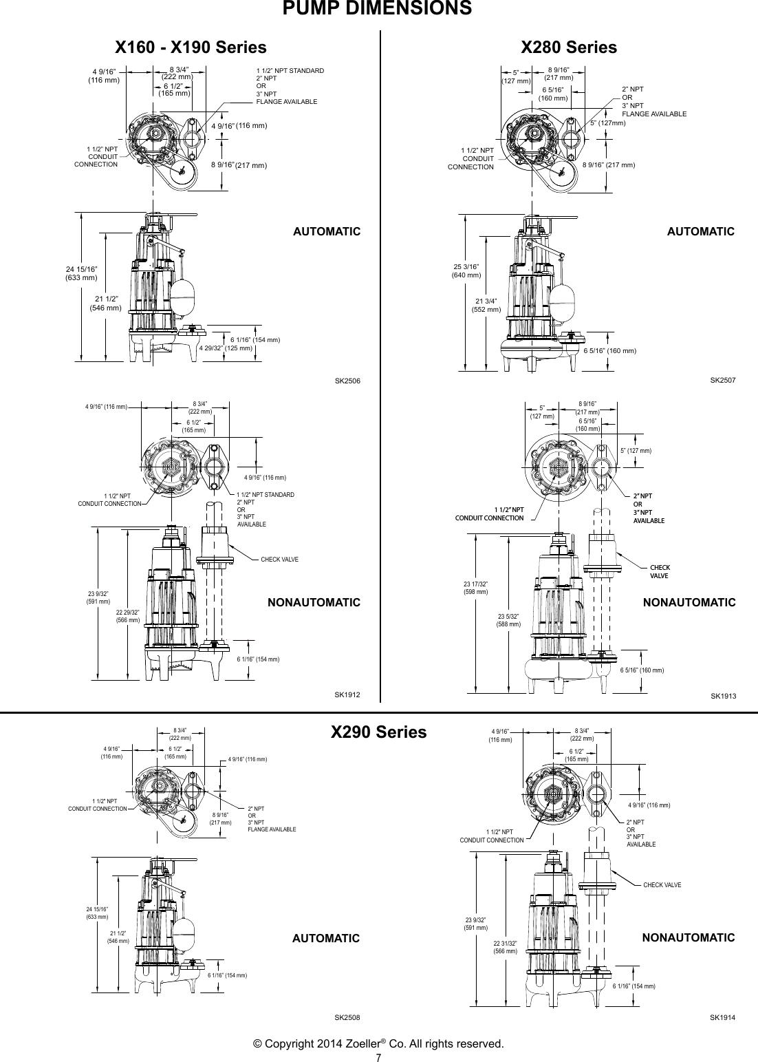 Zoeller Pump Switch Wiring Diagram