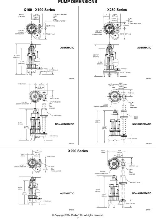 small resolution of page 7 of 12 3282 1 zoeller 160 series explosion proof pumps owners manual user