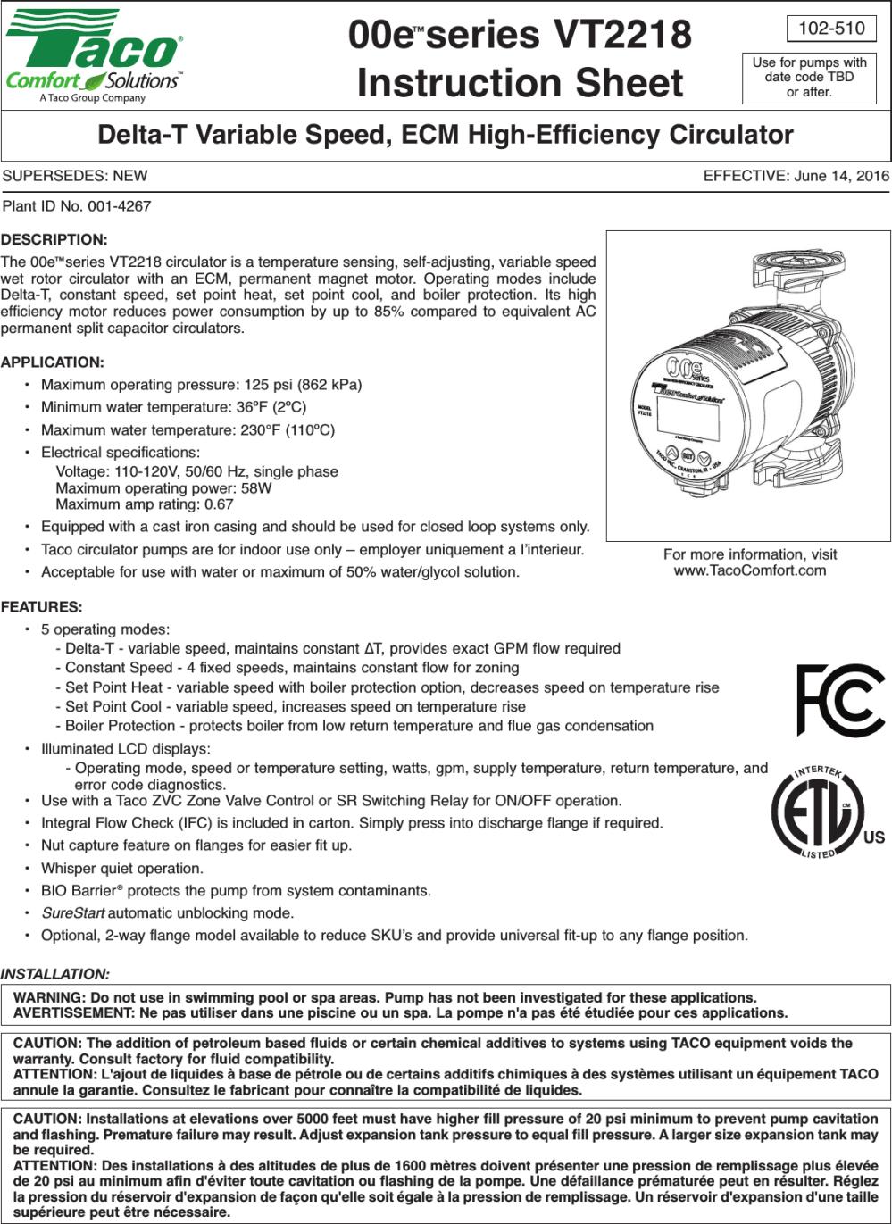 medium resolution of taco pump wiring diagram 007 capacitor