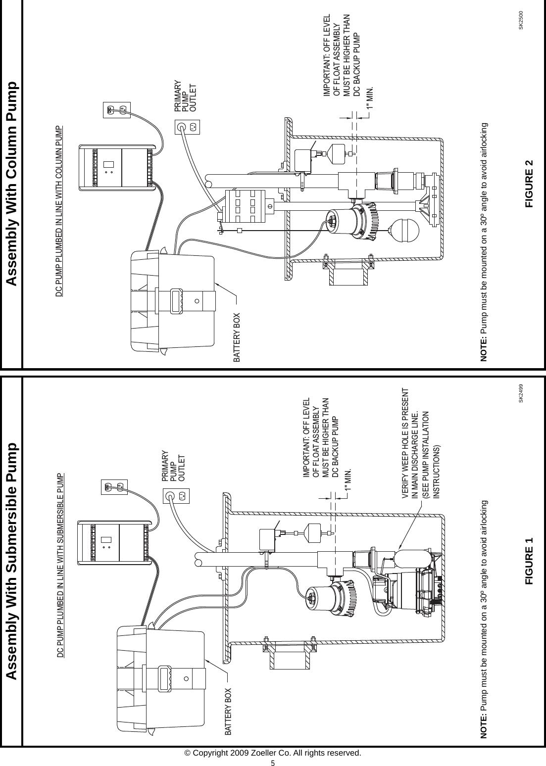 537026 1 Zoeller 507 Basement Sentry System Installation