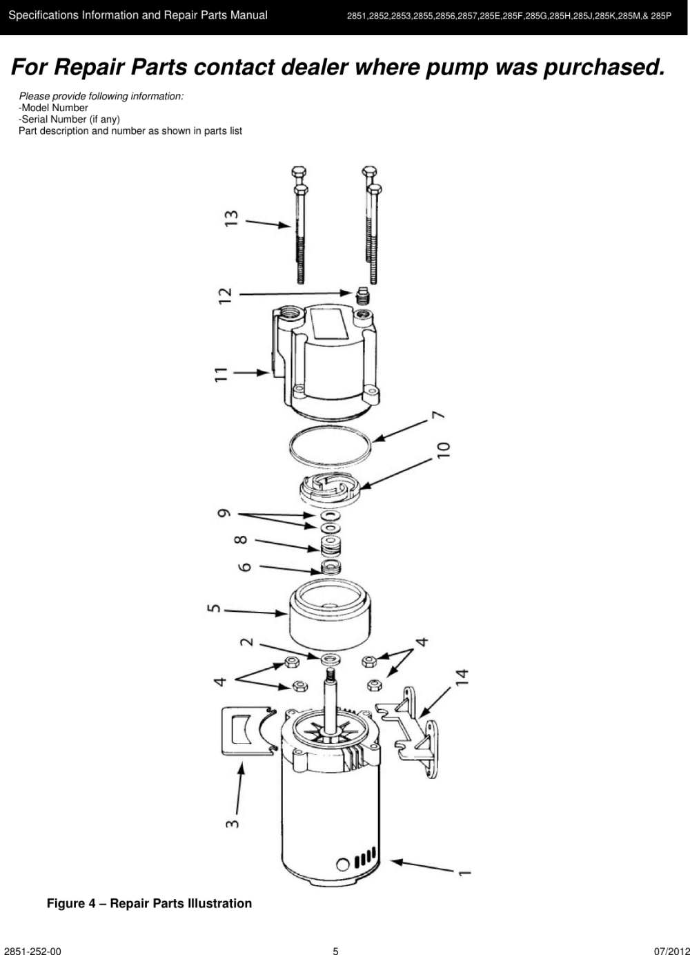 medium resolution of page 5 of 8 537184 3 amt cast iron centrifugal pump repair parts user manual