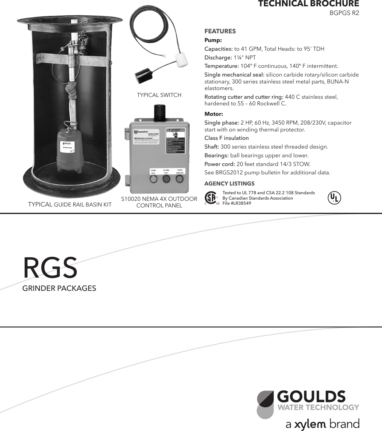 hight resolution of  control box wiring diagram on 538653 1 goulds rgs2012 grinder pump kits technical brochure on