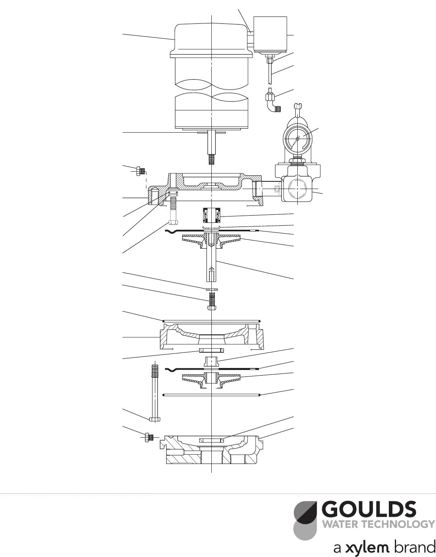 Water Pressure Booster Pump: Sj10 Goulds Pump