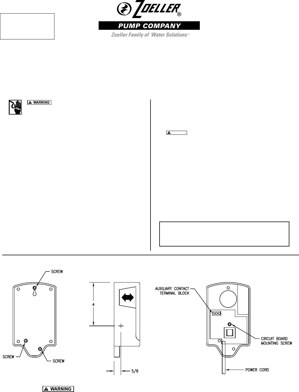 zoeller duplex pump control panel wiring diagram 2006 pontiac g6 starter submersible best library 548086 3 10 2614 apak alarm instructions 3085 flygt