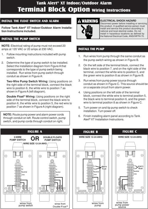 small resolution of tank alert xt source 1011020g tb wiring instr pmd 550334 4 sje rhombus