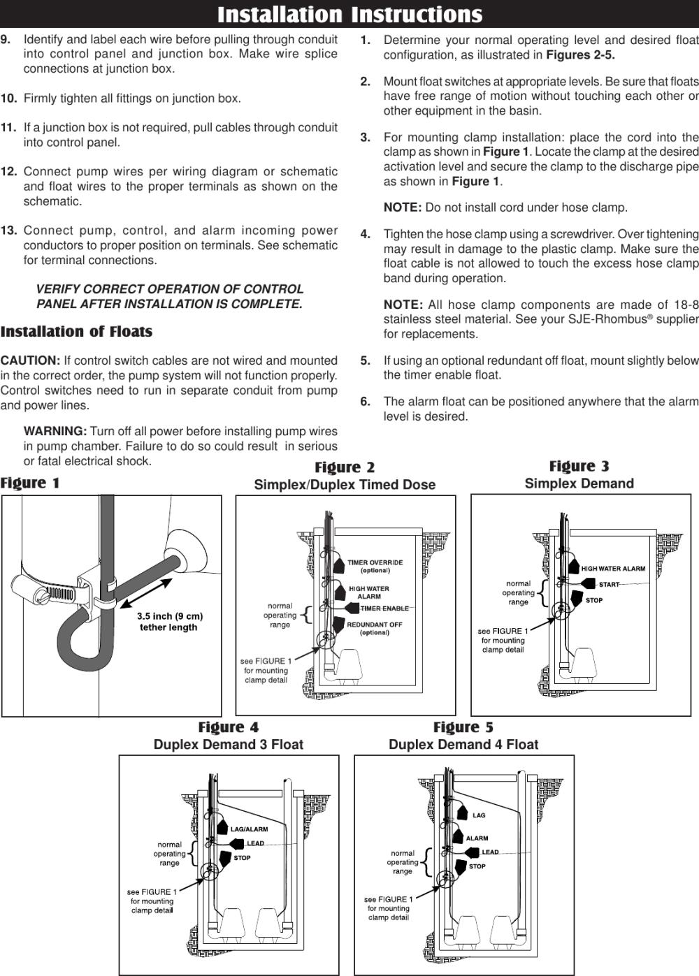 medium resolution of 1022888d ifs38 5x11 551175 1 sje rhombus ifs single phase duplex installation instructions