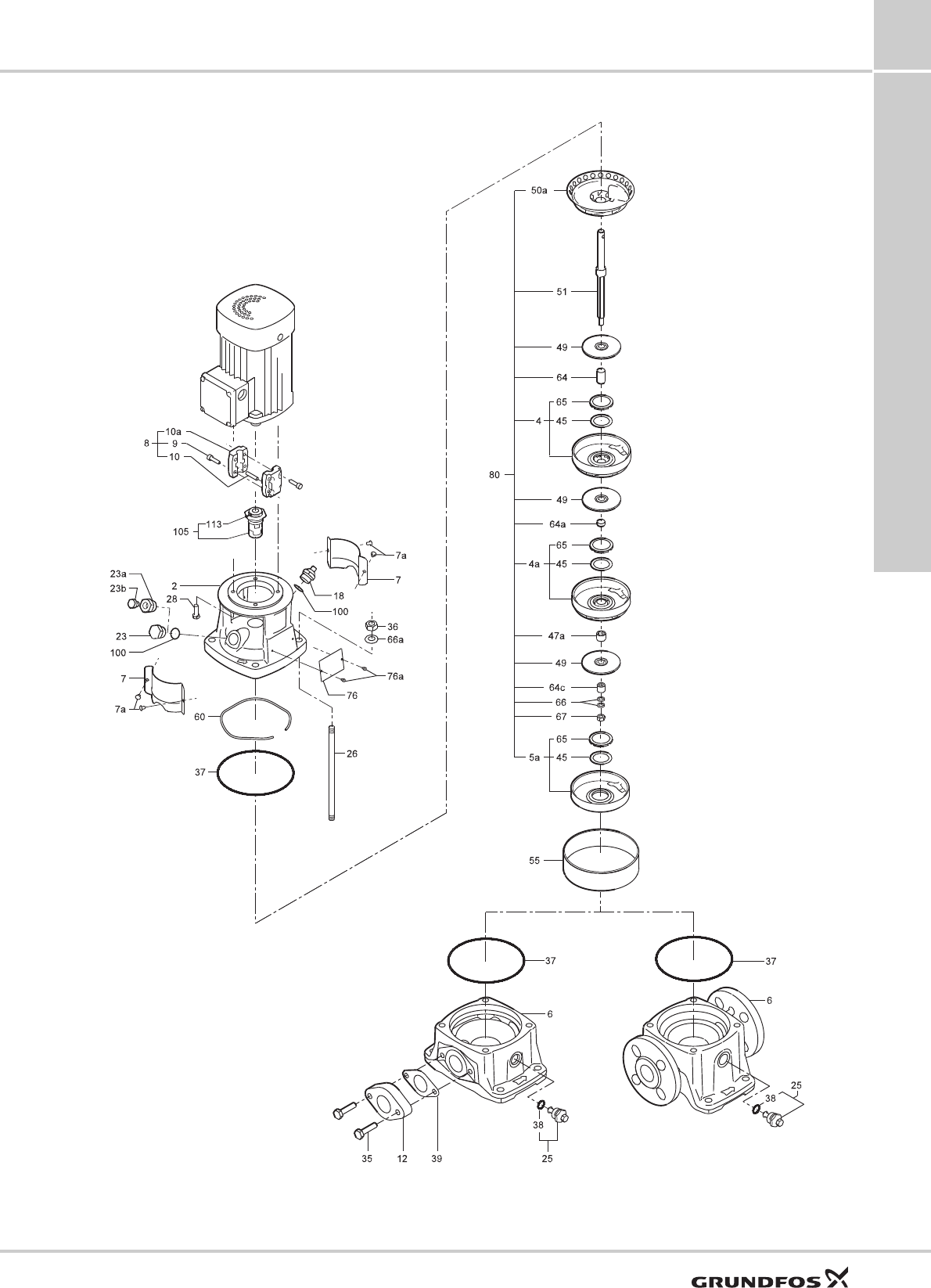 551463 1 Grundfos CR, CRI, CRN Service Kit Catalog