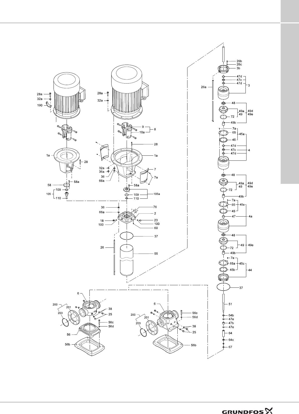 551463 1 Grundfos CR, CRI, CRN Service Kit Catalog