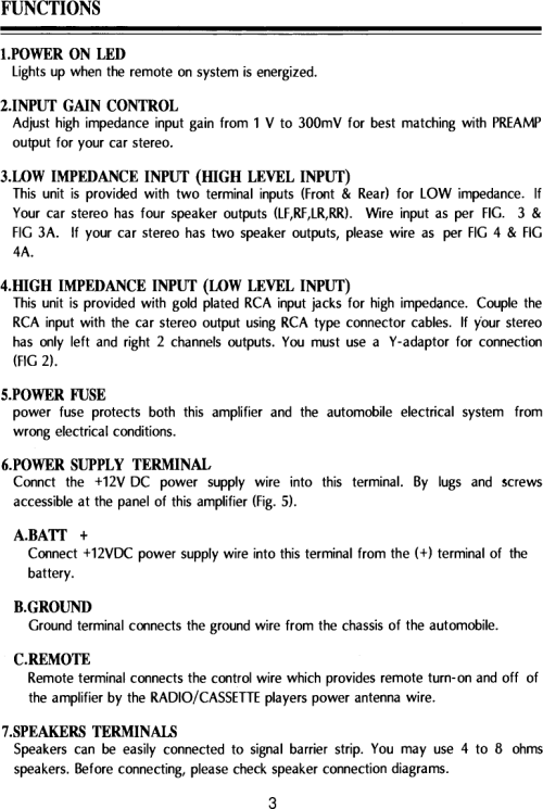small resolution of page 3 of 12 pyle audio pyle audio car amplifier