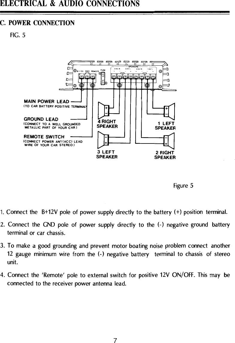 medium resolution of page 7 of 12 pyle audio pyle audio car amplifier