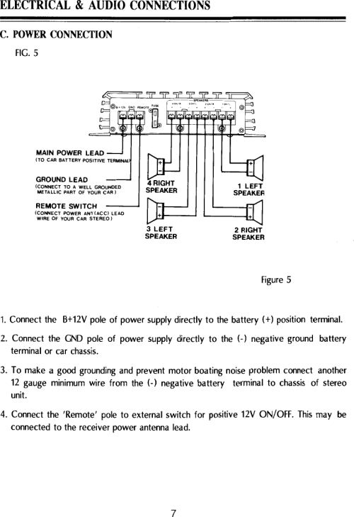 small resolution of page 7 of 12 pyle audio pyle audio car amplifier