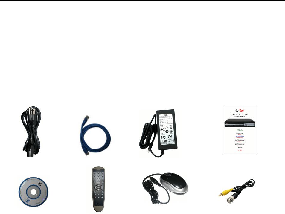 Q See Qsdr008Rtc Manual QSD9004V R008RTC User