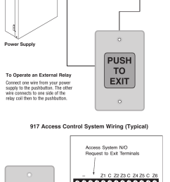 page 2 of 2 rci 917 easy touch exit pushbutton installation instructions is917 r0814 [ 757 x 1528 Pixel ]