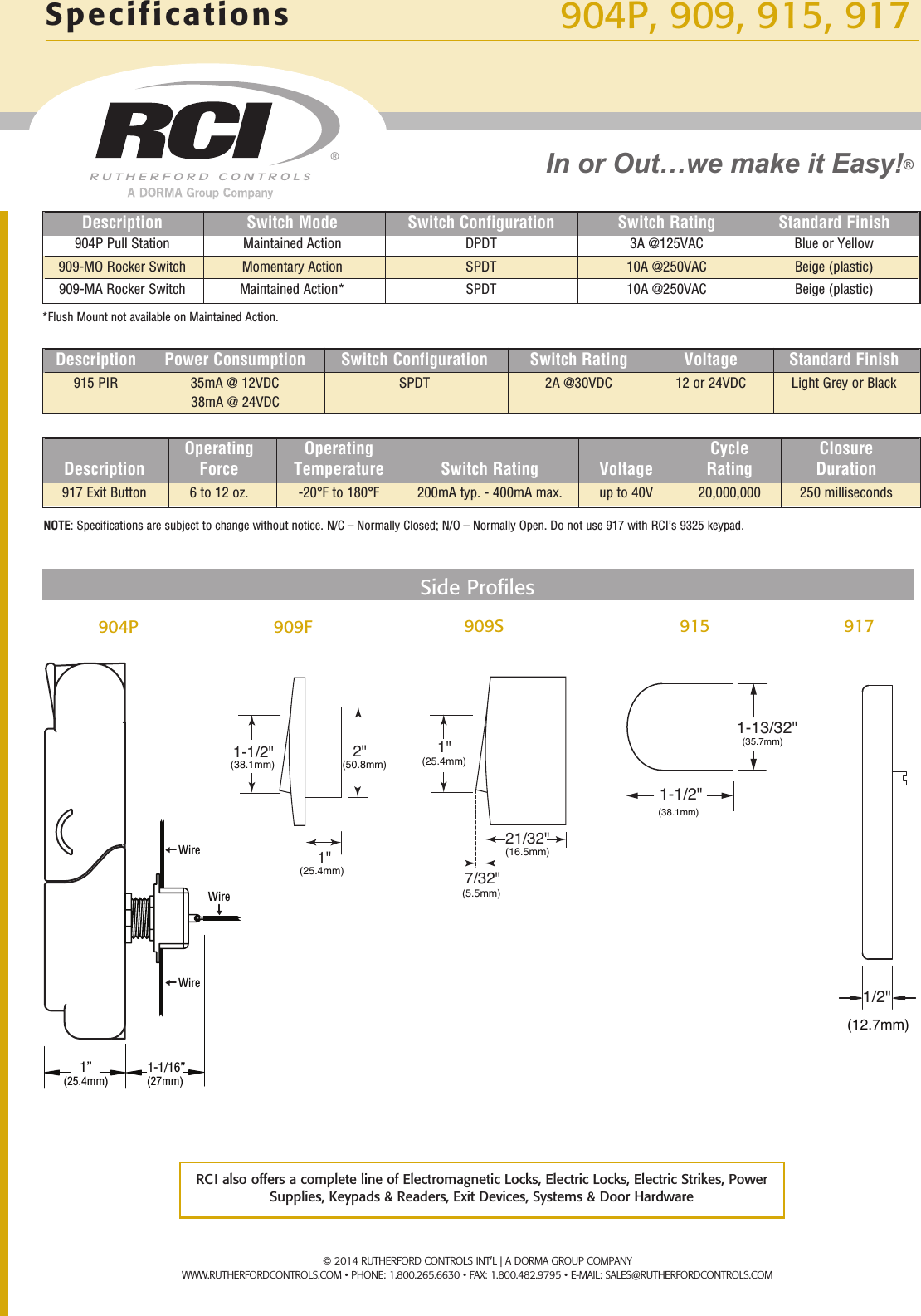 emergency door release wiring diagram tornado alley rci 904p pull station product sheet zl904 17 r0214 2