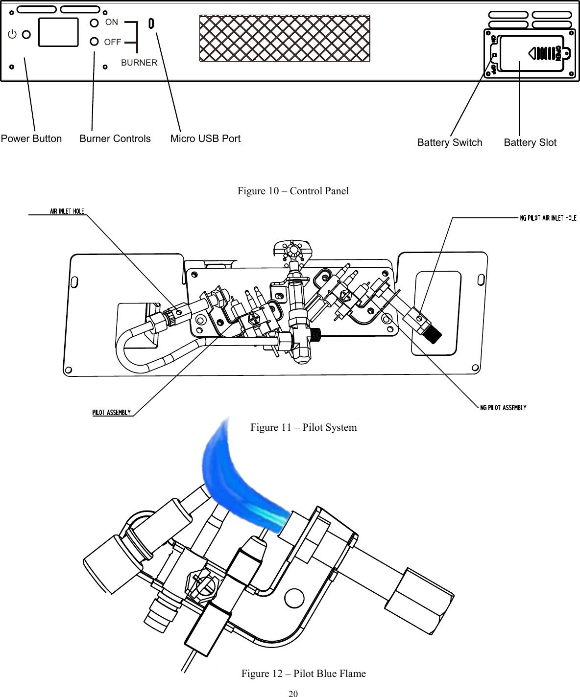 REECON M and E GLDF24RVF Gas Log User Manual