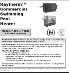 raypak pool heater wiring diagram [ 1125 x 1463 Pixel ]