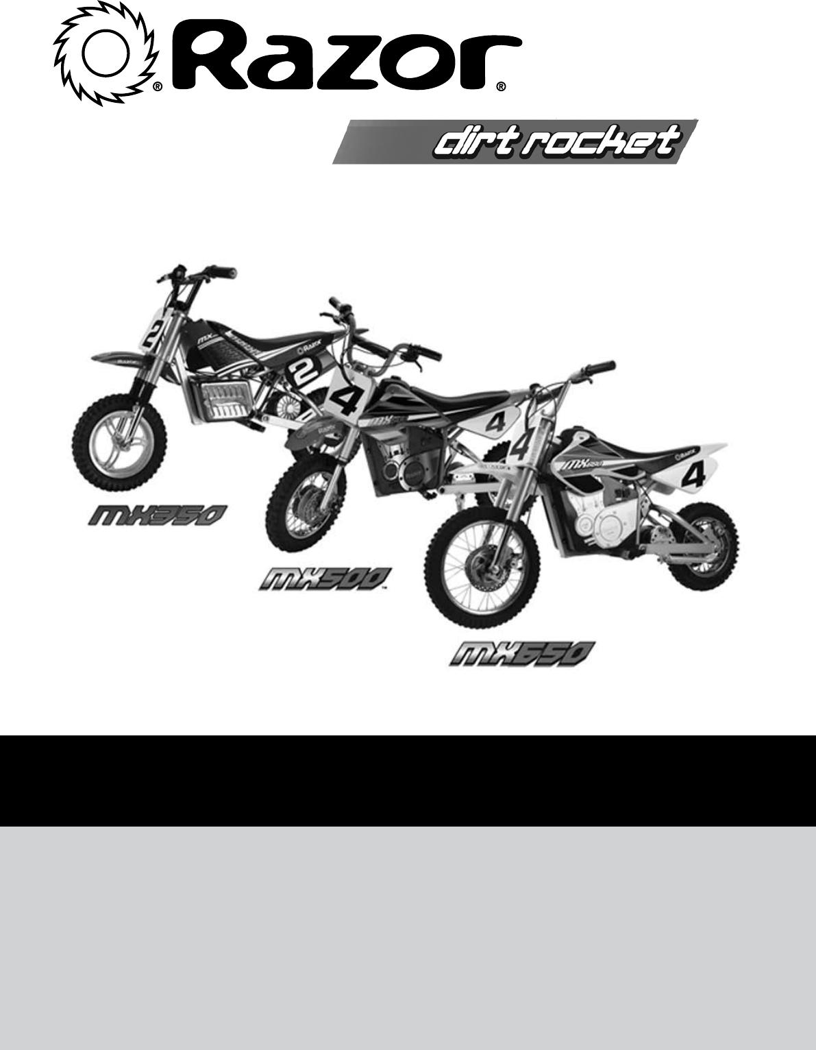 Sport en vakantie MX500/MX650 Battery Cover w/ Screws