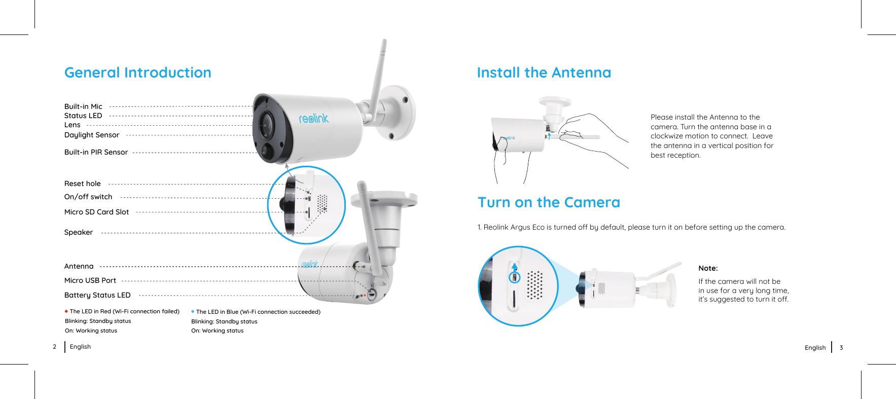Reo link Digital Technology ARGUSECO WiFi IP Camera User