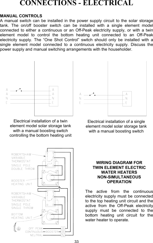small resolution of electric water heater wiring diagram dual element