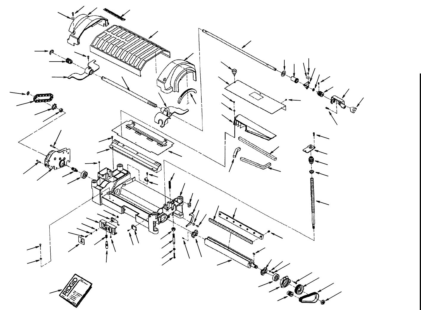 Ridgid Tp1300 Users Manual