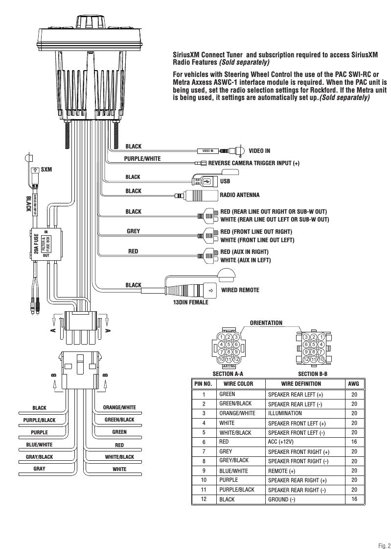 medium resolution of rockford wiring diagram