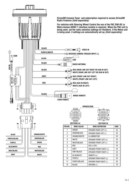 small resolution of rockford wiring diagram
