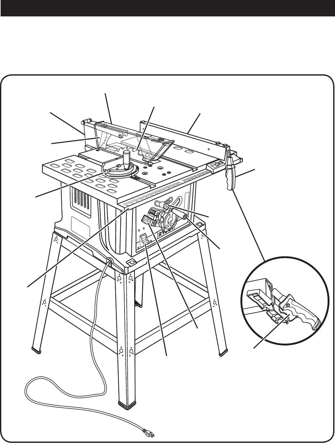 Ryobi Bts12S Owner S Manual