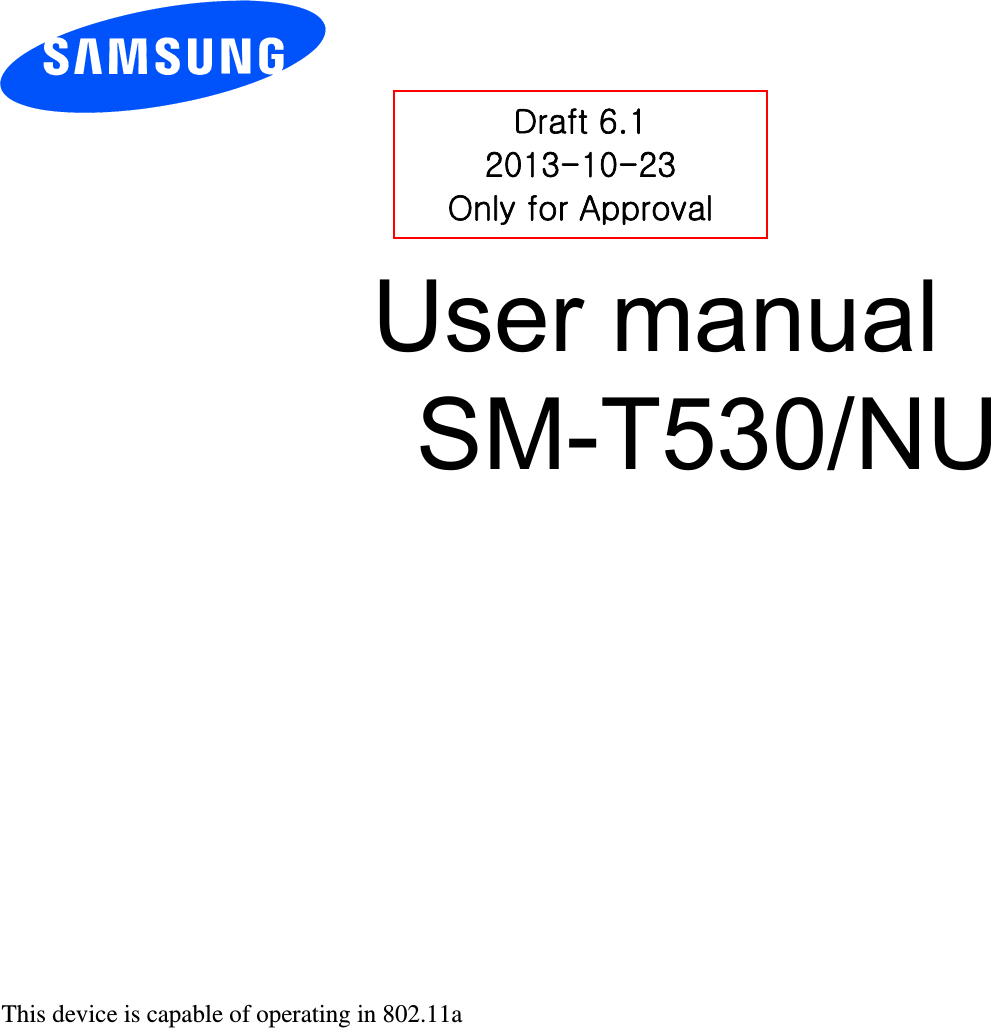 Samsung Electronics Co SMT530 Portable WiFi Tablet with