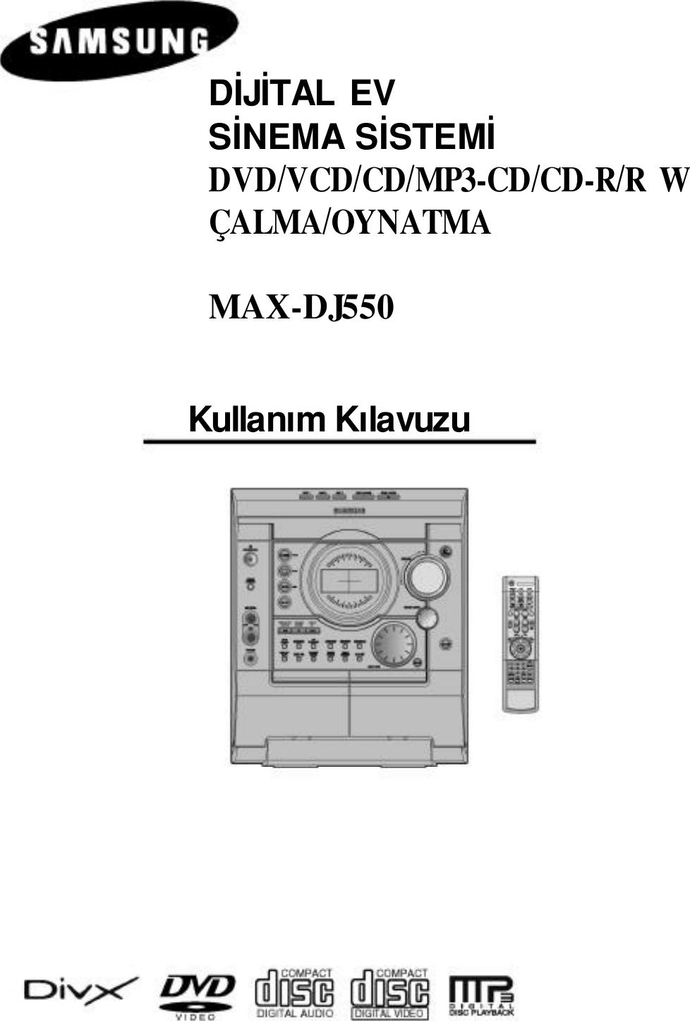 Samsung MAX DJ550 20041027094014343 TUR