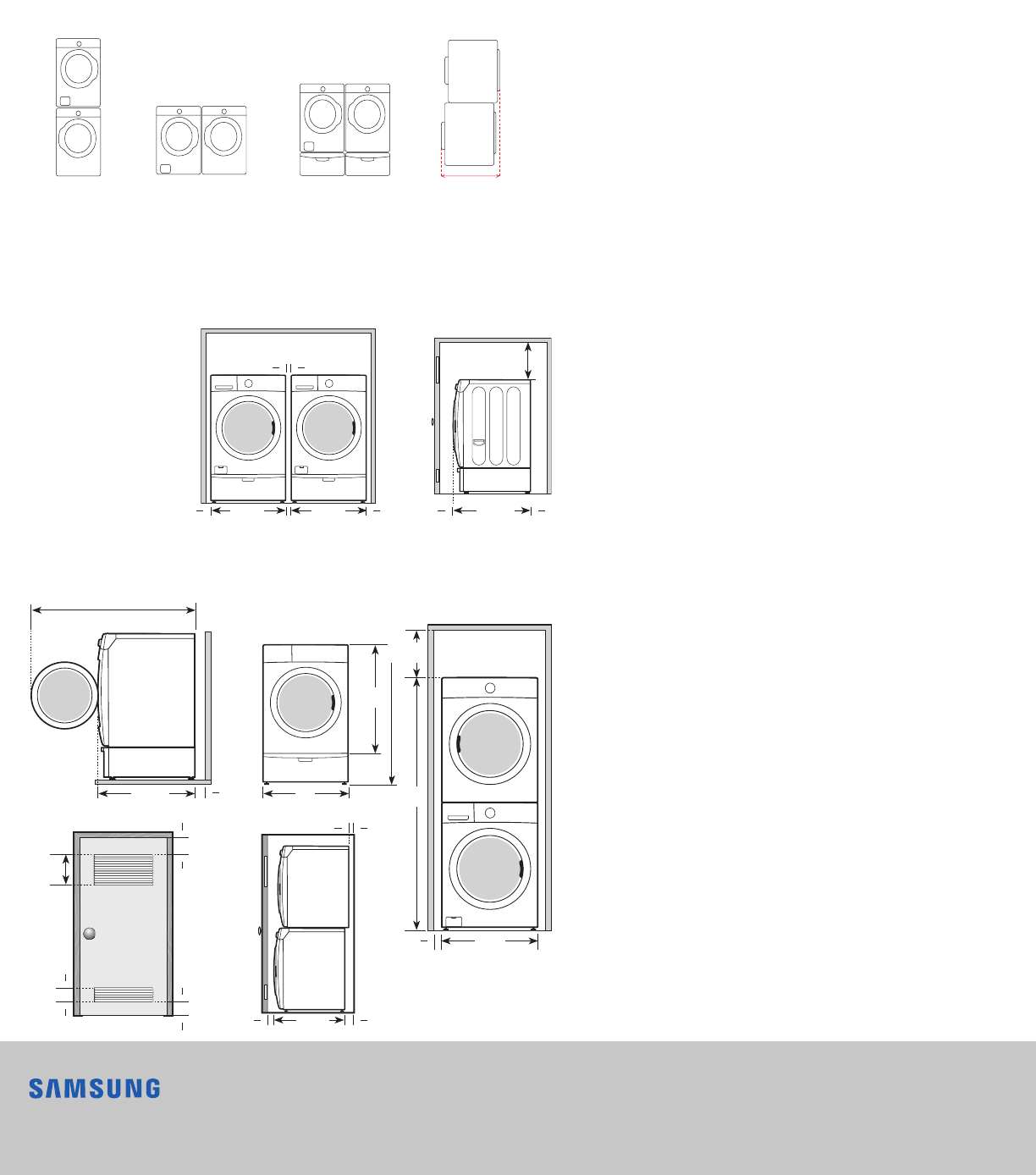 Samsung Dv42H5200Ep A3 Specification Sheet
