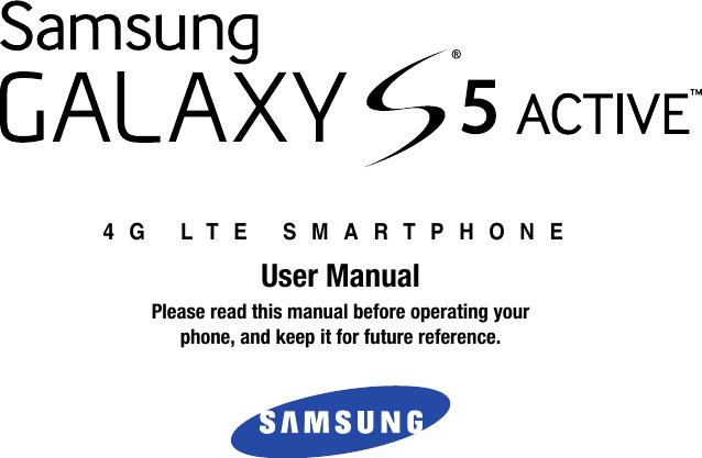 Samsung Galaxy S 5 Active Atandt Users Manual G870A S5 User