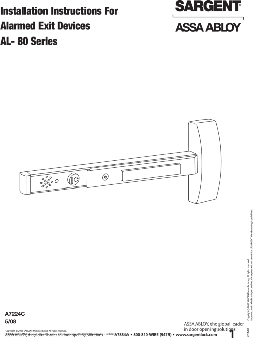 small resolution of alarmed exit wire diagram