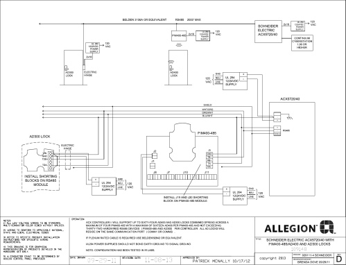 small resolution of schlage electronics c ad300 ad400 wiring diagram schneider acx5720 40 rs485 109148