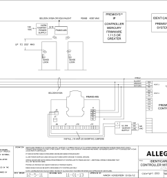 schlage electronics c ad400 wiring diagram identicard premi sys ip controller rs485 109165 [ 1604 x 1226 Pixel ]