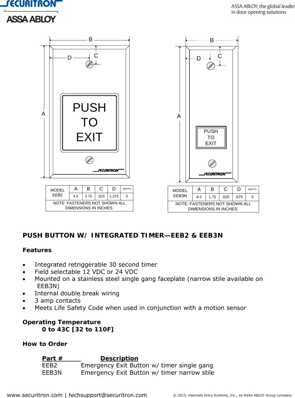 medium resolution of emergency exit wiring diagram