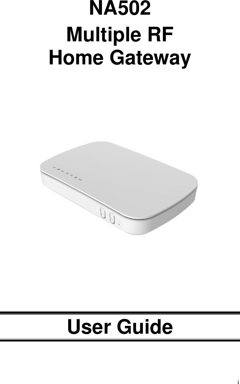 Sercomm NA502 Multiple RF Home Gateway User Manual Cardbus
