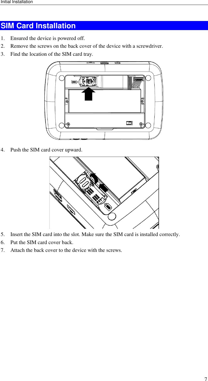 Sercomm NA502S Multiple RF Home Gateway User Manual