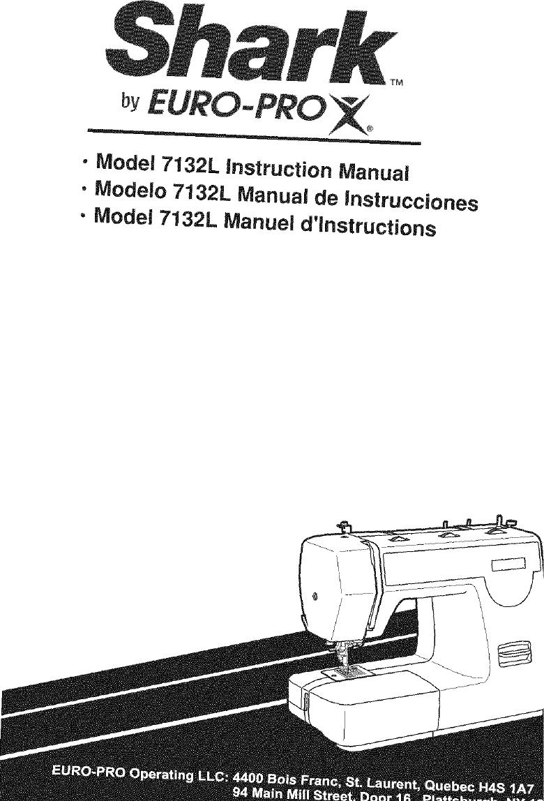 Shark 7132L Users Manual