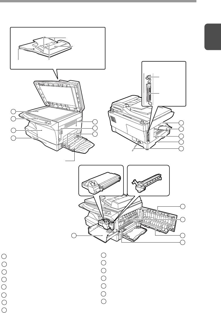 Sharp Al 1631 Users Manual And 1641CS Operation