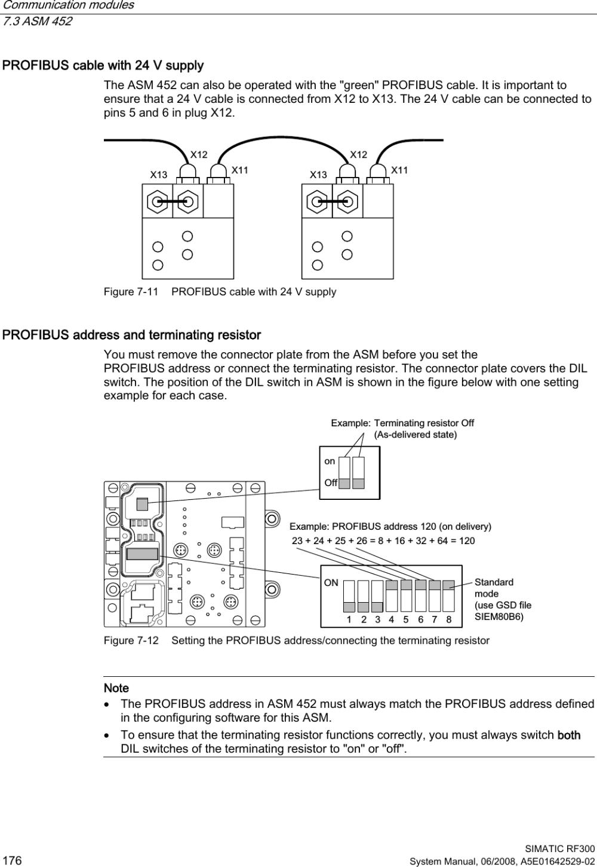 medium resolution of communication modules 7 3 asm 452 simatic rf300 176 system manual 06 2008 a5e01642529