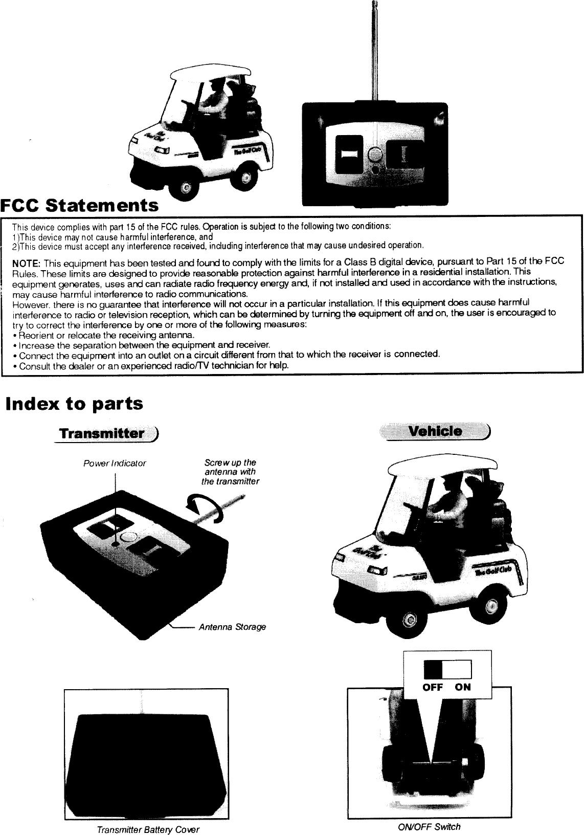 Silverlit Toys TX027145-0406 RC Car User Manual