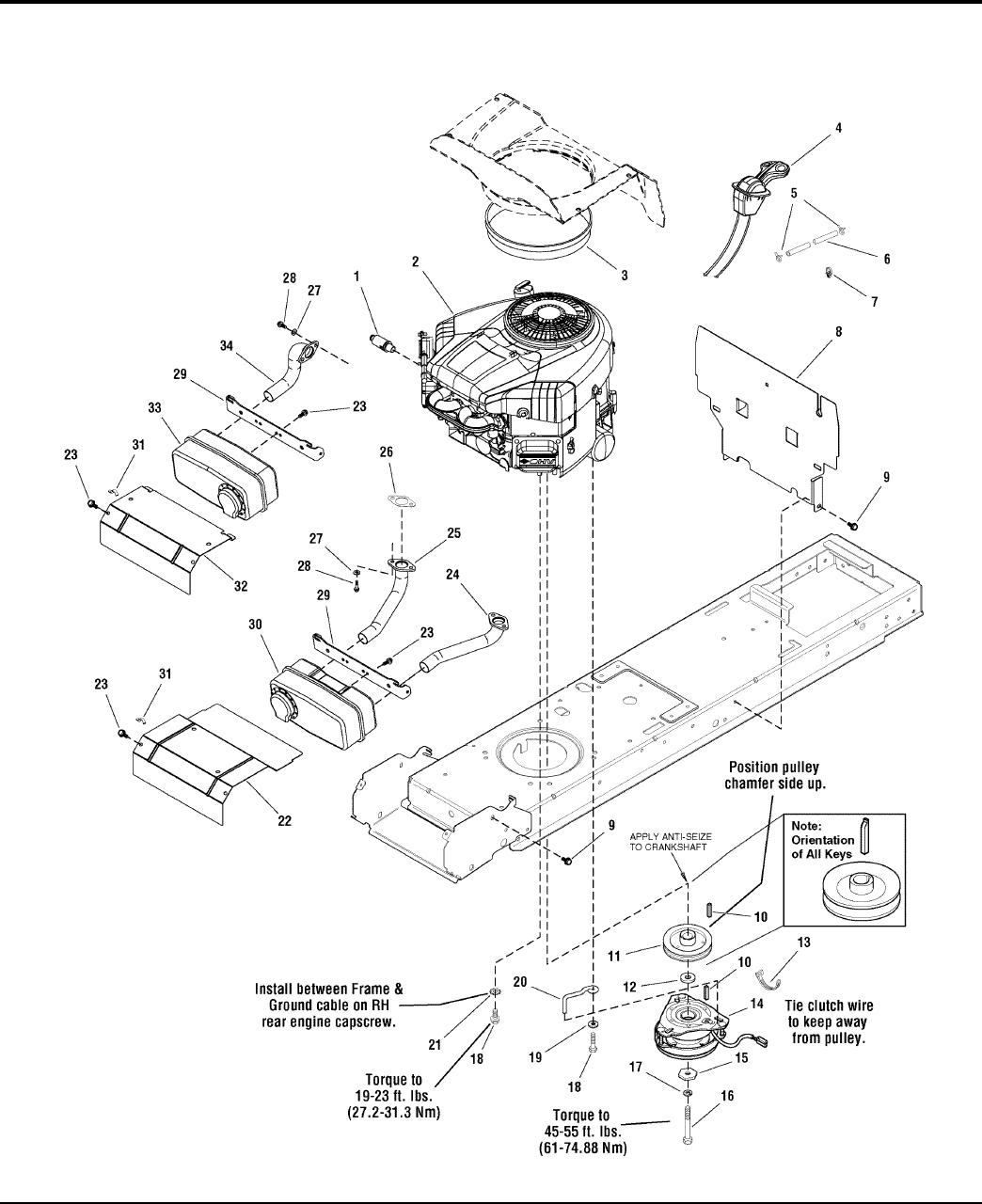 Simplicity 18 5Hp Parts Manual Regent / 500 2500 Series