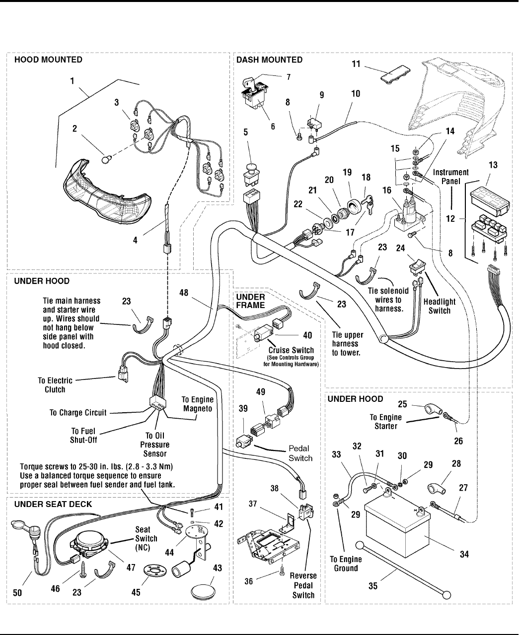 Simplicity Conquest 2700 Parts Manual / 1700 Series Garden