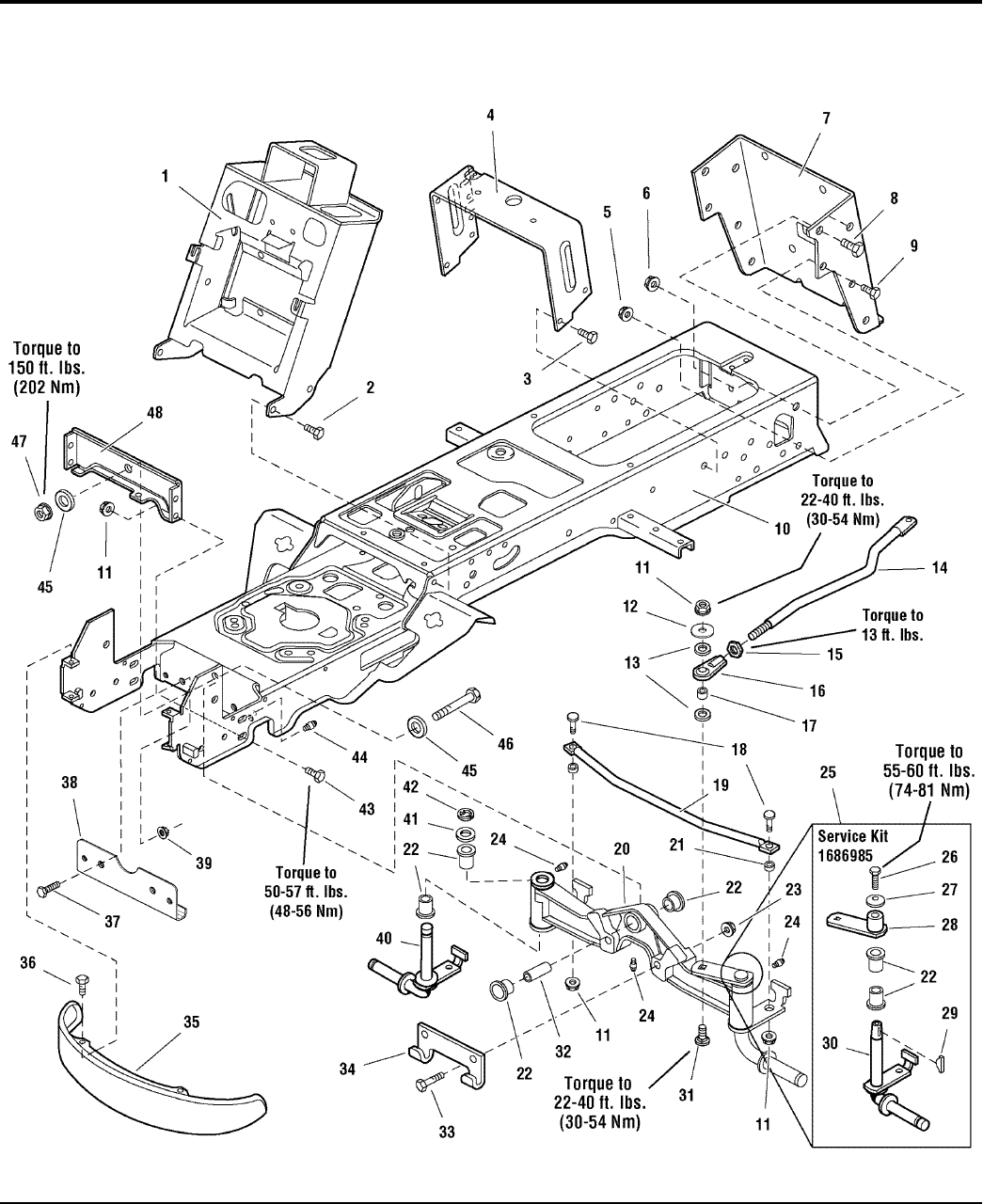 Simplicity Conquest 2700 Parts Manual / 1700 Series Garden