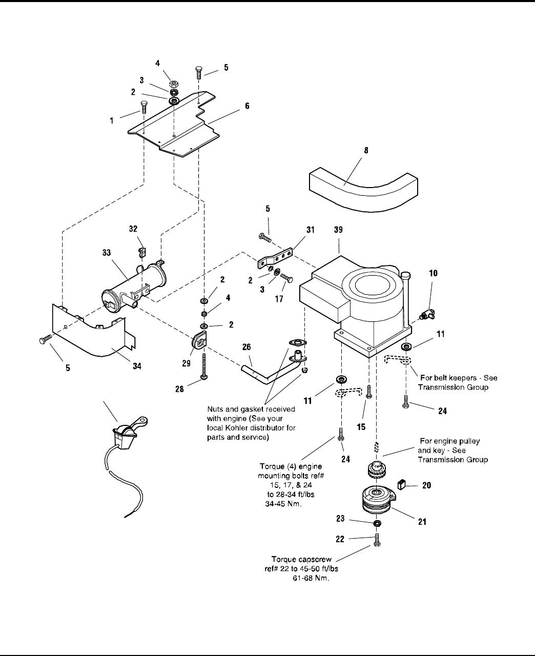 Simplicity Coronet 2400 Parts Manual / Series Riders