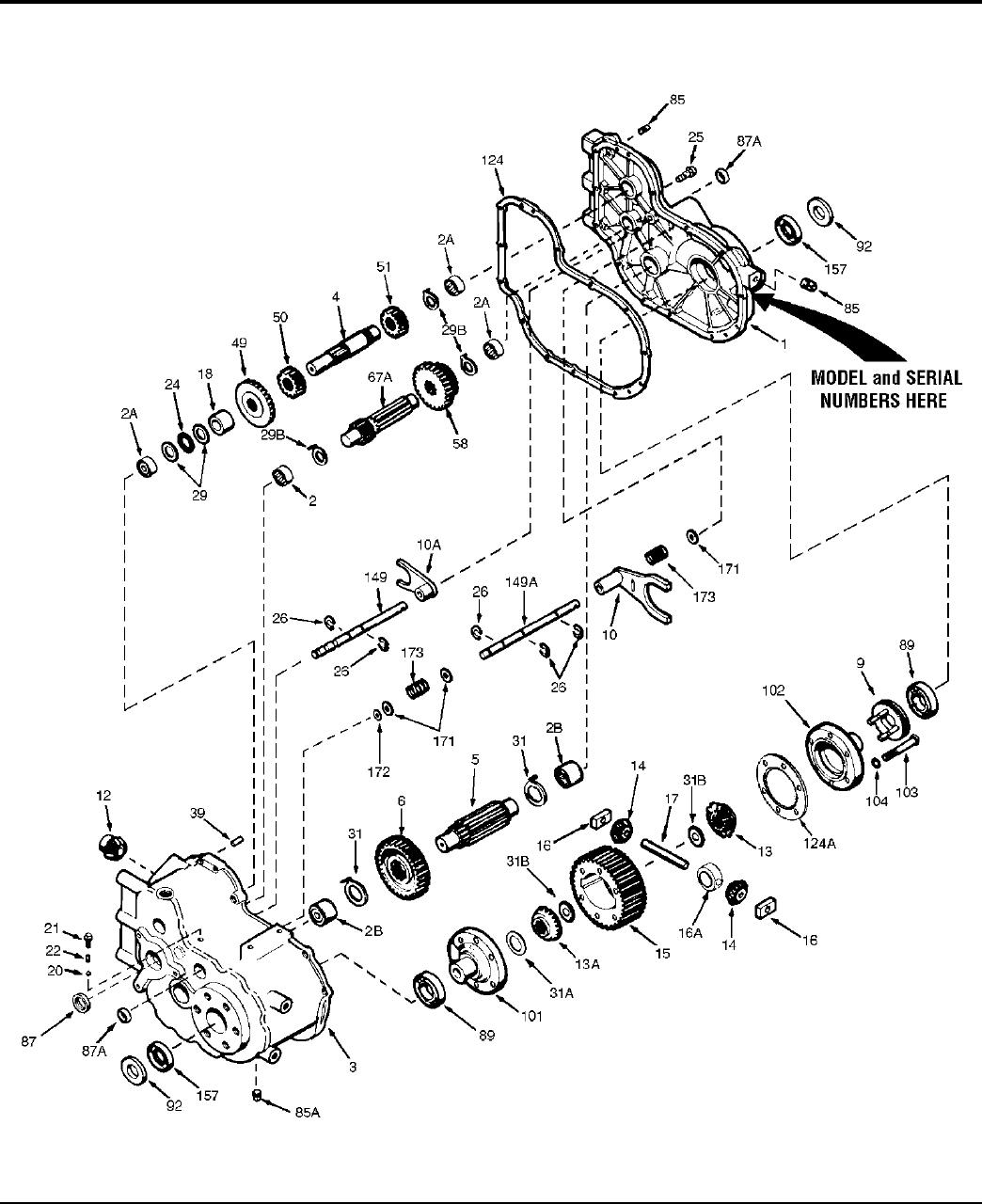 hight resolution of simplicity lecacy parts manual partsmanual png 1044x1280 tecumseh peerless transaxle parts diagram