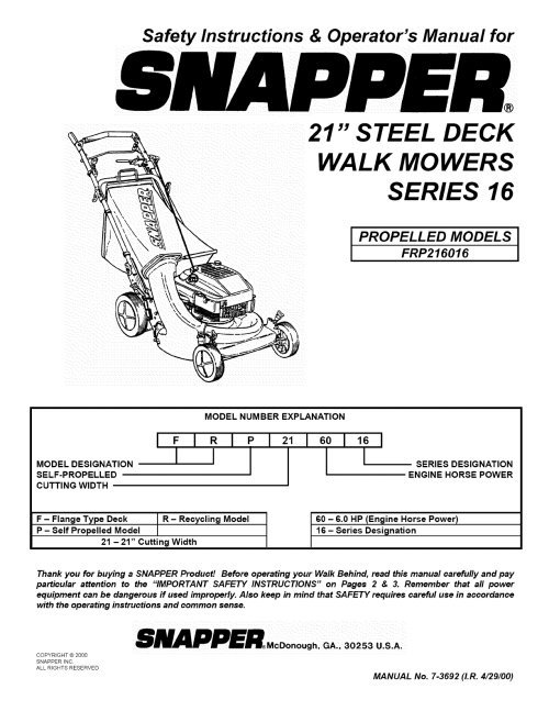 small resolution of snapper walk behind wiring diagram
