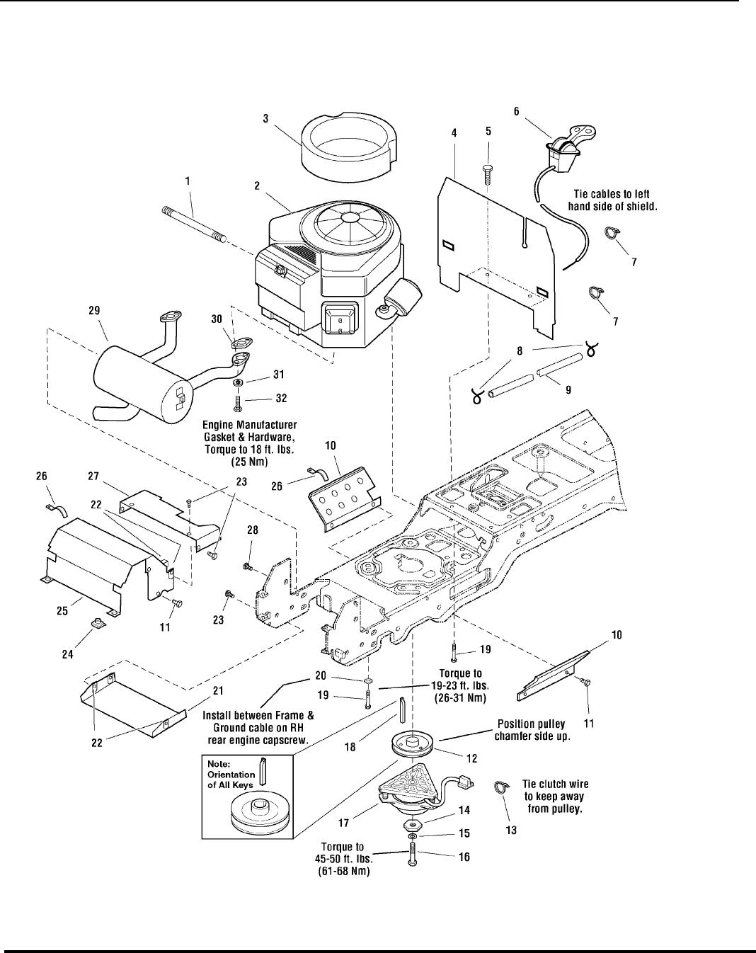 Snapper Yt1644 Yt1844 Yt1850 Yt2050 Users Manual PartsManual