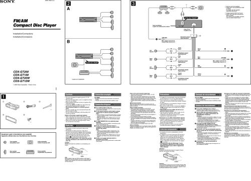 small resolution of sony cdx gt 100 wiring diagram sony cdx m20 wiring diagram sony cdx m20 installation manual sony car radio wiring
